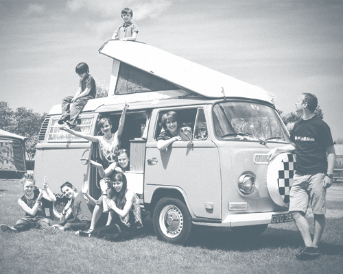 Touring and Camping at the Shake Rattle and Roll Weekender